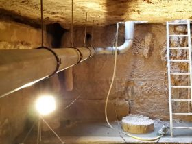 RVS warmwaterleiding aanleggen