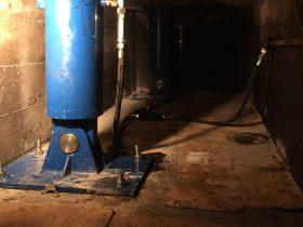 Fundering drietaps cilinder