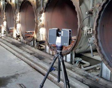 Trestec breidt industrieel onderhoud uit met FARO Laserscanner